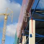 Gurtbefestigung am Bau